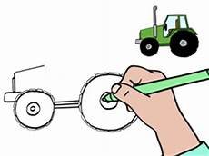 Apprendre 224 Dessiner Un Tracteur