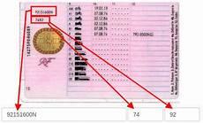 numero de permis de conduire sur nouveau permis retrouvez les informations sur votre permis de conduire