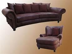 Sofa Im Kolonialstil - sofa mit sessel ohrensessel kolonialstil