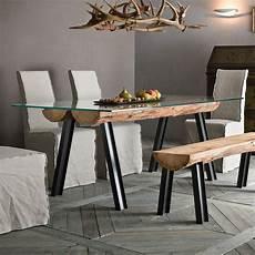 tischplatte aus glas anfide t fester designer tisch mit untergestell aus