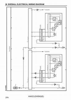 toyota hiace wiring diagrams car electrical wiring diagram
