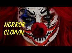Horror Clown Schminken - easy horror clown make up tutorial einfach