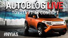 toyota ft 4x concept is an off roader for millennials
