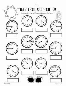 telling time worksheets quarter and half hour 2921 summer telling time practice worksheet pack hour half hour quarter hour