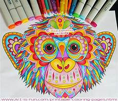 groovy animals coloring pages is