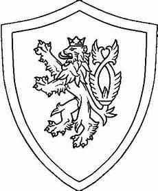 Malvorlagen Ritter Word Ritter Schild Malvorlage Ausmalbild Ritterschild