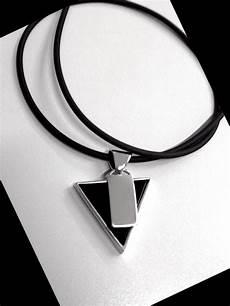 collana vasco collana ciondolo triangolo onice vasco in argento