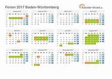 Faschingsferien Baden Württemberg 2017 - ferien baden w 252 rttemberg 2017 ferienkalender zum ausdrucken