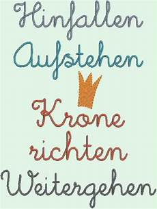 Stickapplikationen Stickdatei Quot Krone Richten Quot Ein