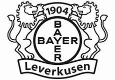 Ausmalbilder Fussball Leverkusen Wandtattoo Bayer 04 Leverkusen Logo Das Einfarbige