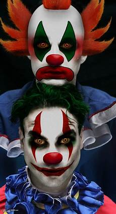 maquillage clown tueur homme 108811 jim parsons johnny galecki worth1000 contests evil
