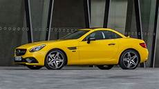 2020 mercedes slc class edition goes out in