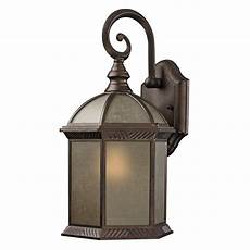 traditional bronze hexagon outdoor wall light with glass 5271 at destination lighting