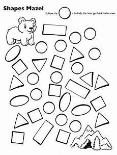 shape maze worksheet 1194 11 best teddy theme printables images on theme teddy bears and teddybear