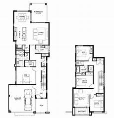 2 storey house plans for narrow blocks mediterranean house plans two story balcony narrow lot