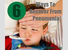 pneumonia recovery time in seniors