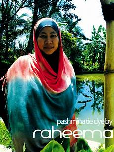 Raheema Moslem Fashion Line Pashmina Tie Dye