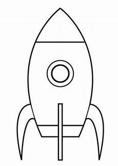 Malvorlage Rakete Einfach Ganz Einfache Rakete Ausmalbild Met Afbeeldingen