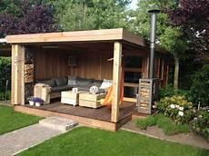 abri jardin moderne abri de jardin toit plat avec pergola