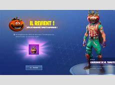 Fortnite : nouveau skin, monsieur tomate, défi   Millenium