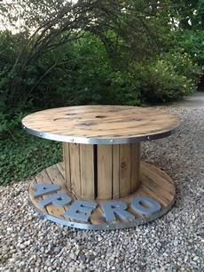 table basse bobine bois table basse bobine ap 233 ro styl 233 e d 233 coration salon cerclage