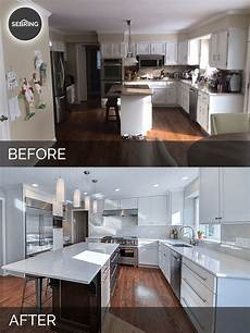 Kitchen Design Ideas Before And After by Derek Christine S Kitchen Before After Pictures Home