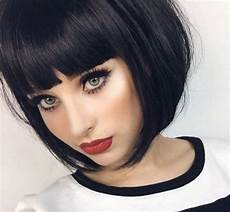 a line with bangs 6 chic looks from instagram that prove the style works all things hair uk