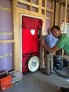what is a blower door test and why is it important