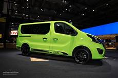 Opel Vivaro Makes Cer Vans Look Cool In Frankfurt