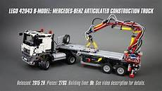 lego technic mercedes lego technic 42043 b model mercedes articulated