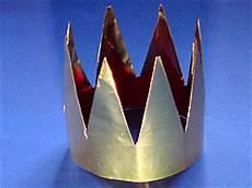 eine krone basteln basteln gestalten