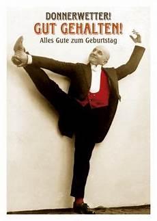Vintage Alter Mann Postkarte Alles Gute Zum Geburtstag