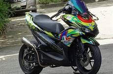 Motor Plus Modifikasi by Tidak Cuma Sporty Modifikasi Yamaha Aerox Ini Punya