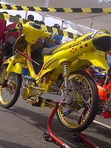 Modifikasi Shogun 125 Tahun 2005 by Modifikasi Suzuki Shogun 2002 Atep Persib Motor Racing