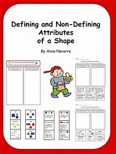 shapes attributes worksheets 1035 my s defining and non defining attributes of shapes