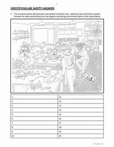 lab safety review worksheets editable by tangstar science tpt