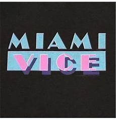 miami vice logo official miami vice 80s retro logo black t shirt buy on offer