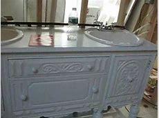 Antique sideboard turned into bathroom vanity 8th vid