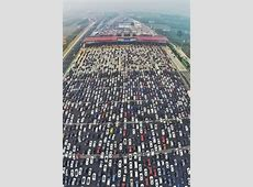 50 lane highway china merge