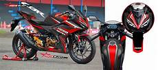 Striping R Modif by Modifikasi Motor Terbaru Cbr150r Black Icon