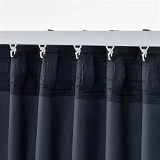 Sanela Rideaux 2 Pi 232 Ces Bleu Fonc 233 Ikea
