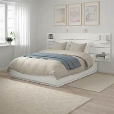 Nordli Cadre De Lit Rangement T 234 Te De Lit Blanc Ikea