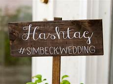 how to create a wedding hashtag love our wedding