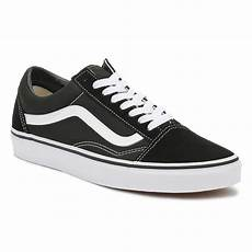 vans skool black white canvas unisex trainers