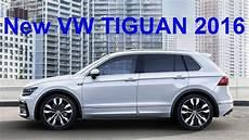 New Volkswagen Tiguan 2016 Official Photo