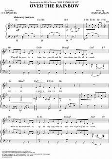 buy quot over the rainbow quot sheet music by judy garland for piano vocal chords