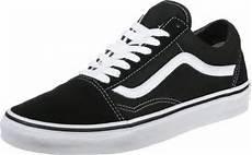 vans skool shoes black white