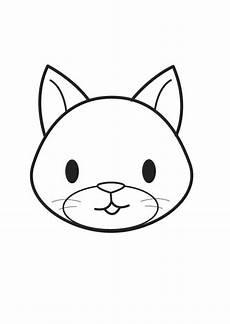 Malvorlagen Katzenkopf Malvorlage Katzenkopf Kostenlose Ausmalbilder Zum