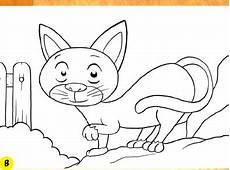 Gambar Mewarnai Anak Kucing Kumpulan Gambar Menarik
