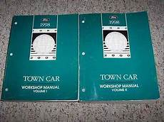 car owners manuals free downloads 1998 lincoln town car lane departure warning 1998 lincoln town car shop service repair manual executive signature cartier v8 ebay